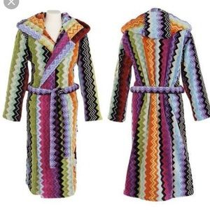 Missoni bathrobe